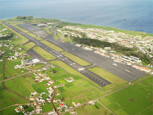 Photo of Lajes Airport, Terceira Island in the Azores