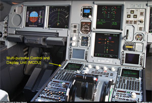 Photo of A330 Flight Deck