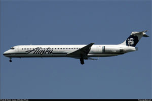Photo of Alaska Airlines MD-83
