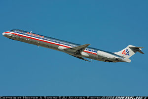 Photo of American Airlines MD-82