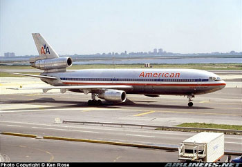 Photo of American Airlines Flight 191, DC10