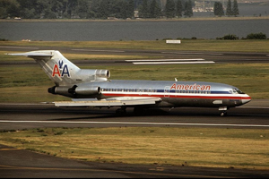 Photo of an American 727