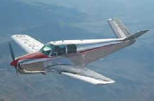 Photo of Beechcraft Model 35 Bonanza similar to accident airplane