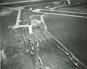 Photo of Mason City Municipal Airport 1947