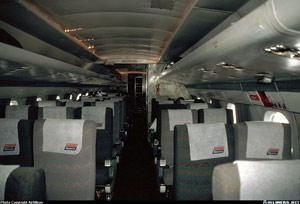 Photo of an Electra Passenger Cabin