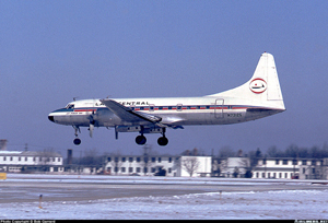 Photo of Convair 580