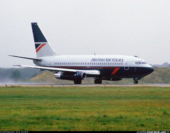 Photo of British Air Tours Boeing 737