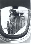 Photo of engine no.3 throught missing cabin window