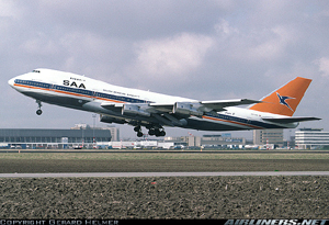 Photo of South African Airways 747