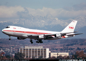 Photo of an TWA