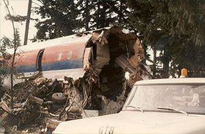 Photo of wreckage