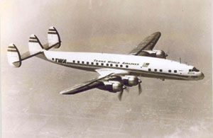 TWA Lockheed 1049A, Super Constellation