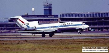 Photo of United Boeing Model 727